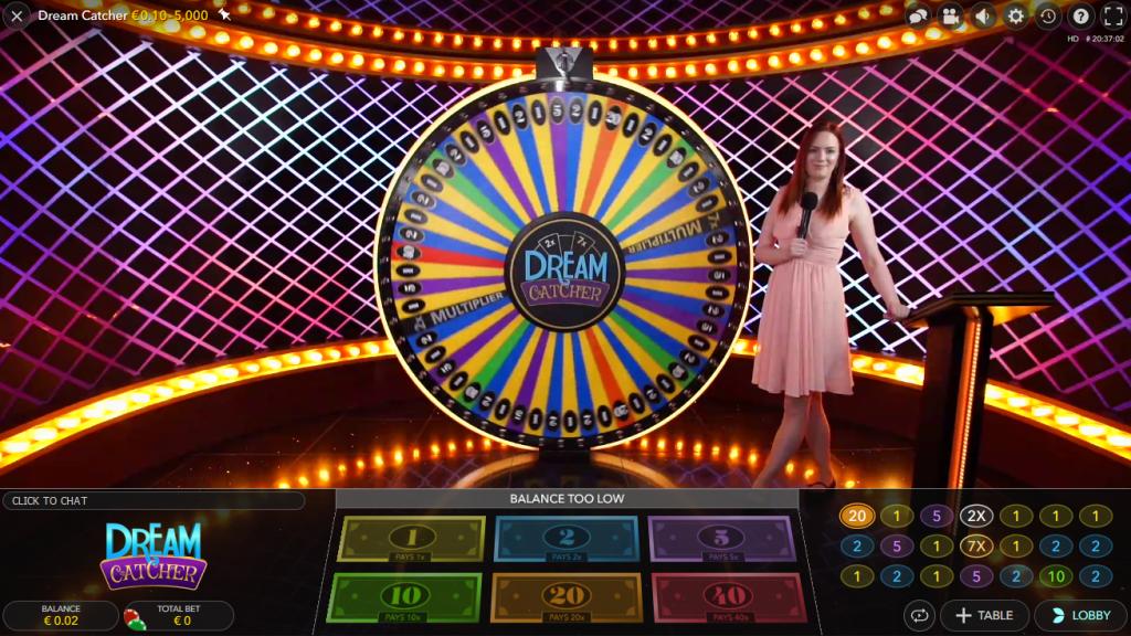 afbeelding Live Dream Catcher groot scherm