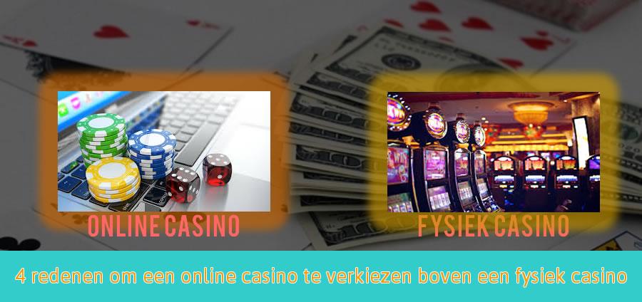 online casino vs fysiek casino